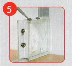 Como colocar vitroblock jongose ninja car interior design - Colocacion de bloques de vidrio ...